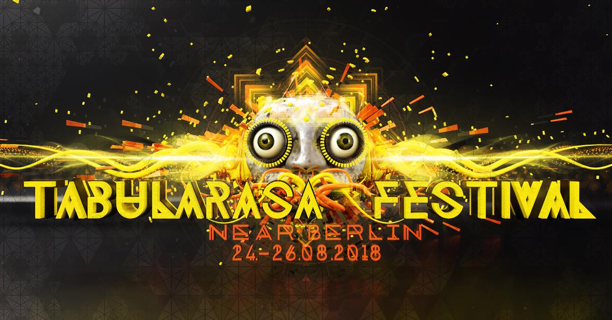 Party Flyer Tabularasa Festival 2018 24 Aug '18, 14:00