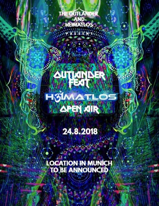 The Outlander Featuring Heimatlos | Psychedelic Open Air 24 Aug '18, 13:00