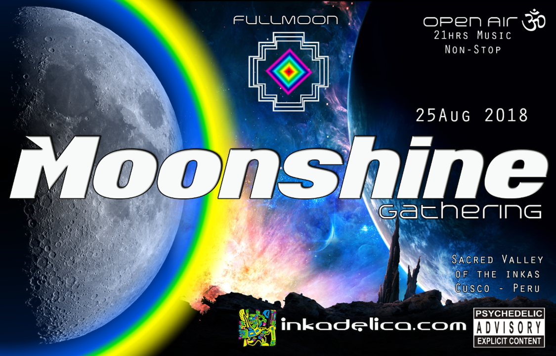 Party Flyer Moonshine Gathering 25 Aug '18, 15:00