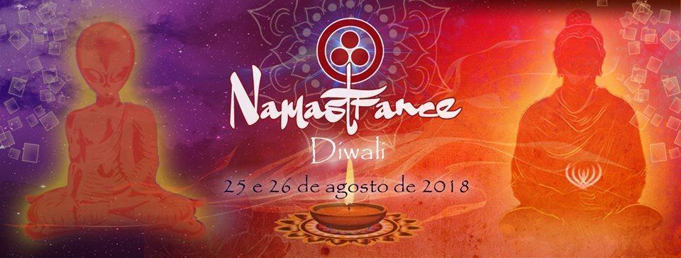 Party Flyer Namastrance   Diwali 25 Aug '18, 18:00