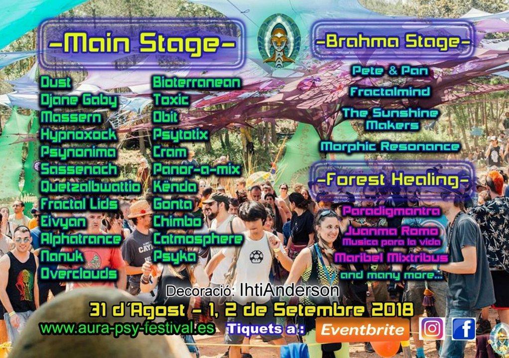 AURA PSY FESTIVAL 31 Aug '18, 20:00