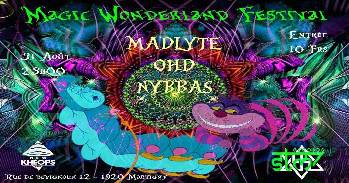 Party Flyer Magic Wonderland Festival 31 Aug '18, 23:00