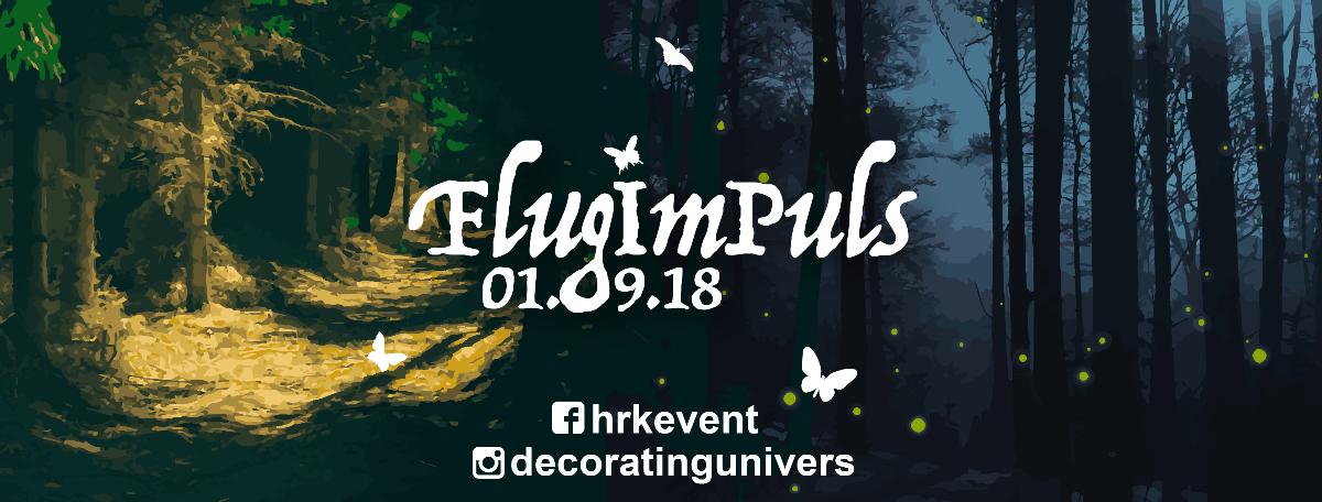 Party Flyer FlugImPuls //HRK 1 Sep '18, 14:00