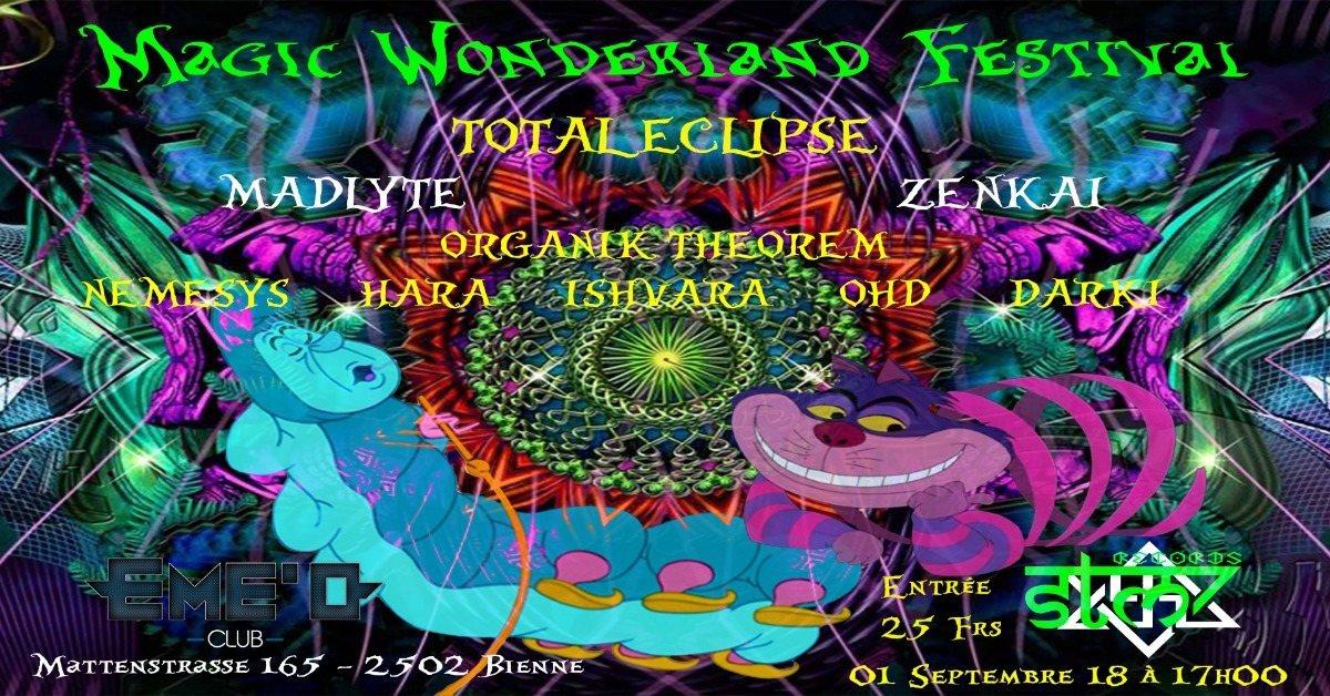 Party Flyer Magic Wonderland Festival 1 Sep '18, 17:00