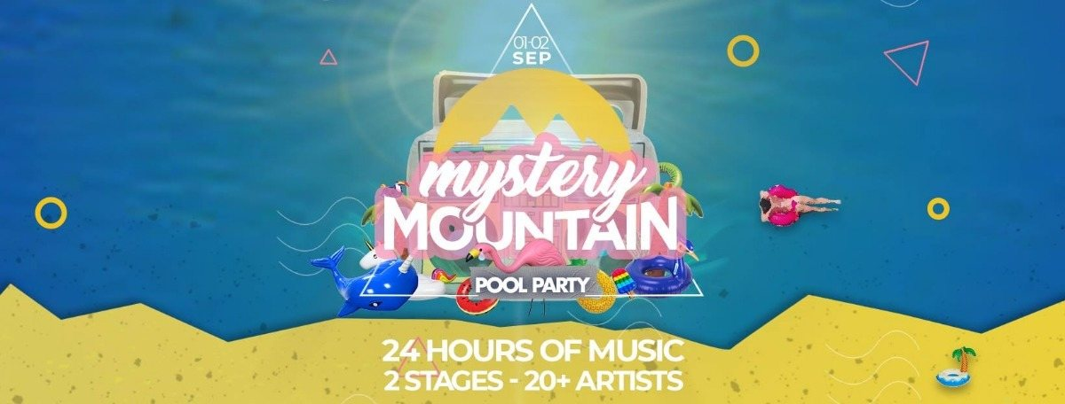 Party Flyer Mystery Mountain 4.0 1 Sep '18, 11:00
