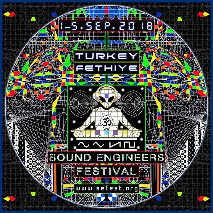 Party Flyer Sound Engineers Festival / 01 - 05.09.2018 @ Turkey 1 Sep '18, 11:00