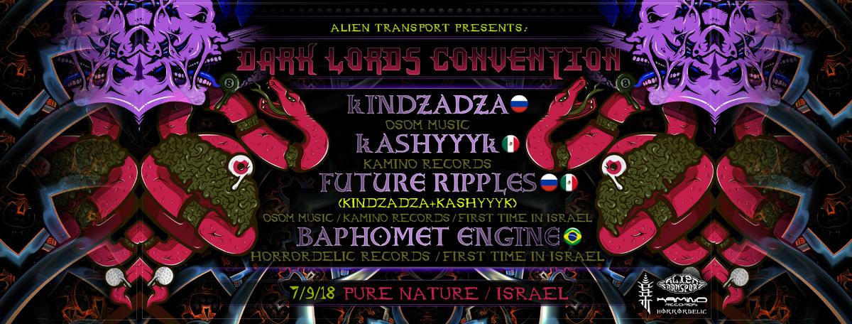 Dark Lord Convention 7 Sep '18, 23:00