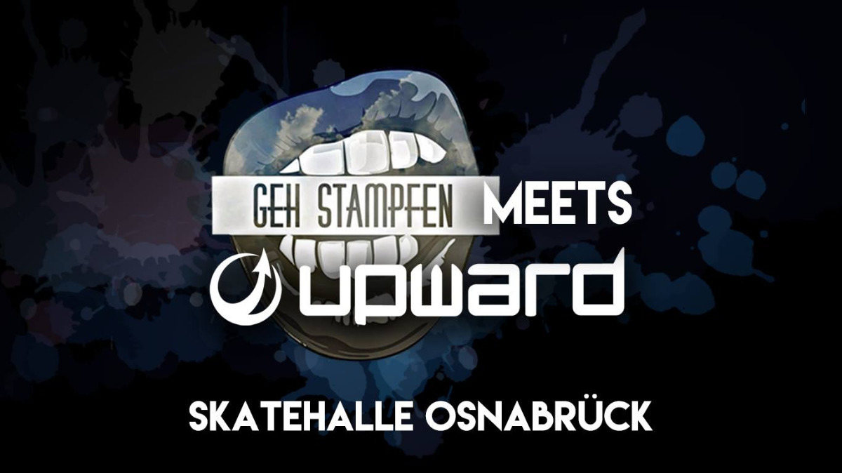 Party Flyer Geh Stampfen meets Upward Records 7 Sep '18, 22:00