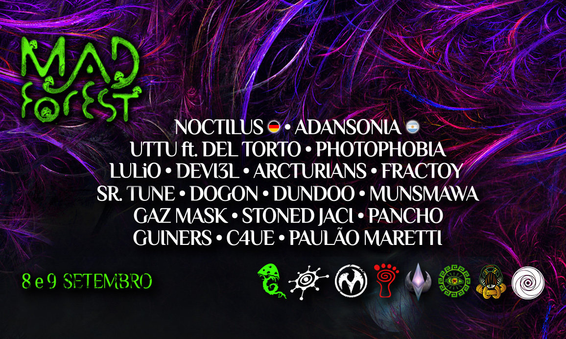 Party Flyer Mad Forest #2 8 Sep '18, 16:00