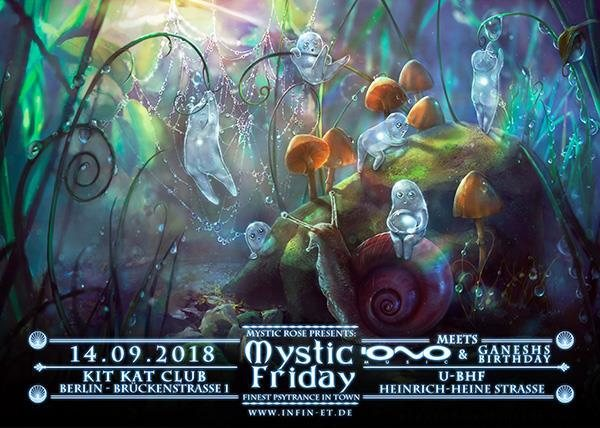 Party Flyer Ganesh's Birthday Collaboration 14 Sep '18, 23:00