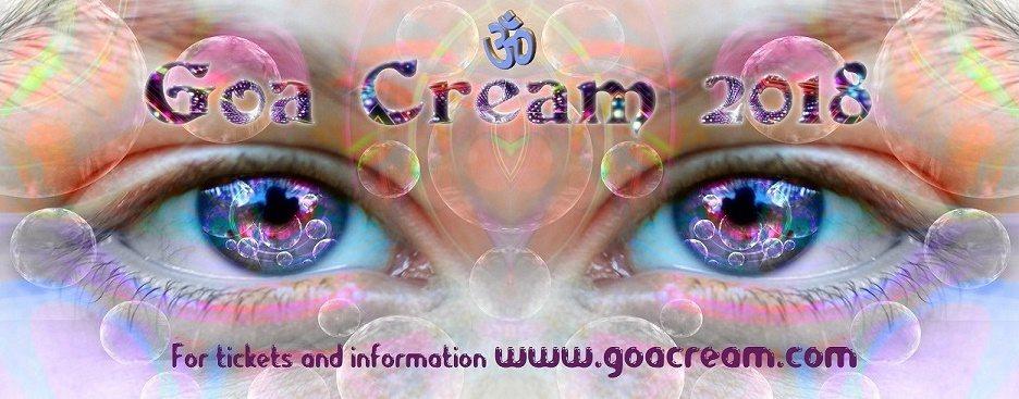Party Flyer Goa Cream 2018 14 Sep '18, 15:00