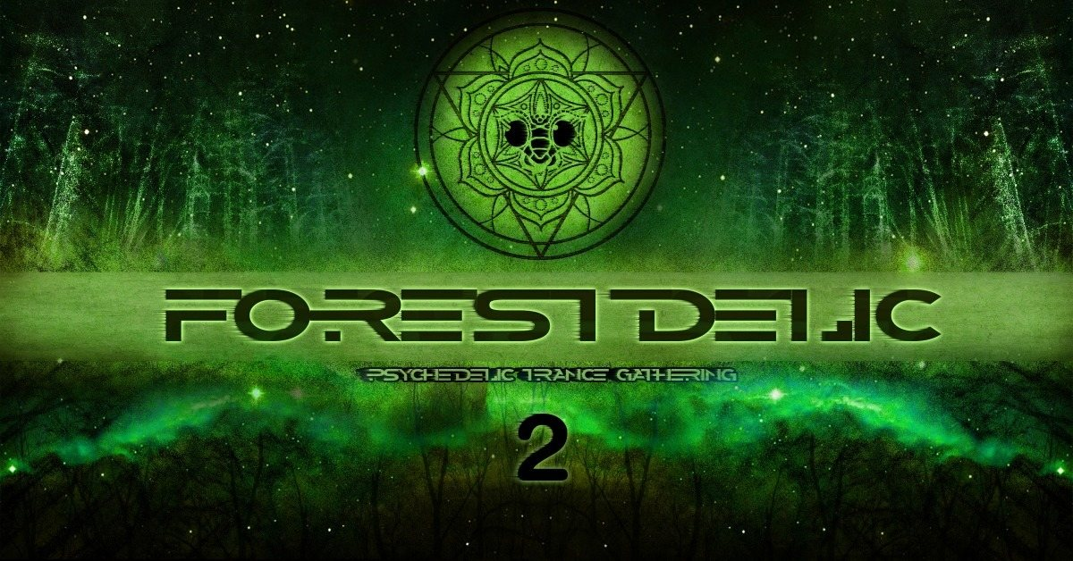 Party Flyer Psybox - Forestdelic 2 14 Sep '18, 22:00