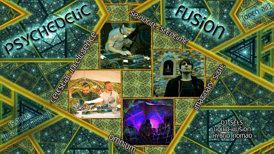 Party Flyer Psychedelic Fusion 15 Sep '18, 22:00