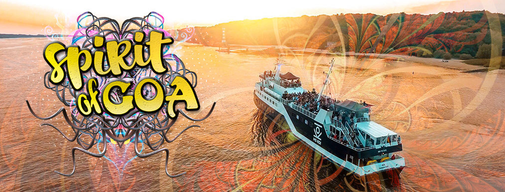 Party Flyer SPIRIT OF GOA BOATCRUISE - LAST TOUCH OF SUMMER 15 Sep '18, 16:00