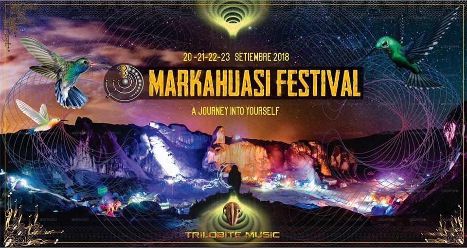 Party Flyer Markahuasi 2018•**Festival de Arte,Espiritualidad y Turismo•** 20 Sep '18, 18:00