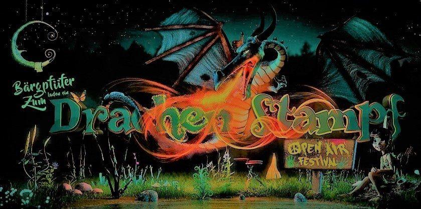 Party Flyer Drachenstampf Festival (Beatenberg) Switzerland 21 Sep '18, 17:00