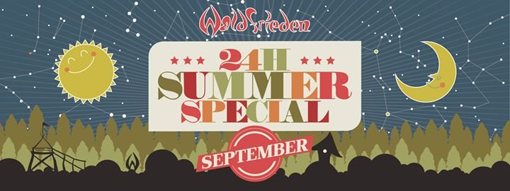 Party Flyer 24H Summer Special September 22 Sep '18, 16:00