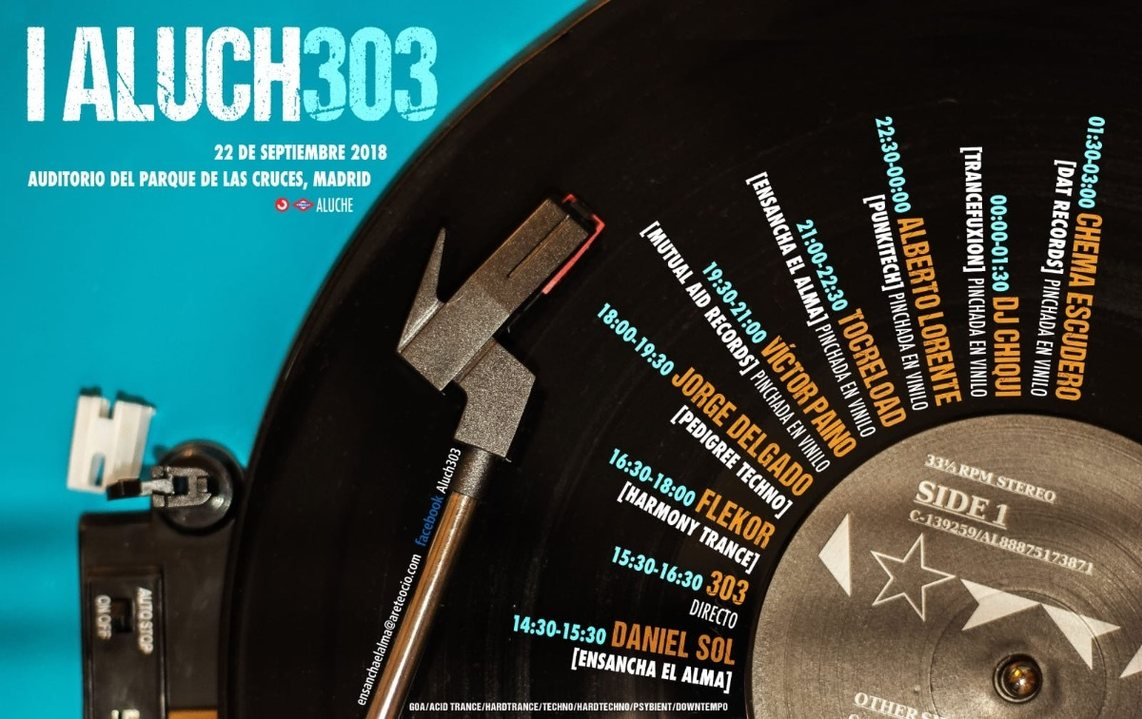 Party Flyer ALUCH303 22 Sep '18, 14:30