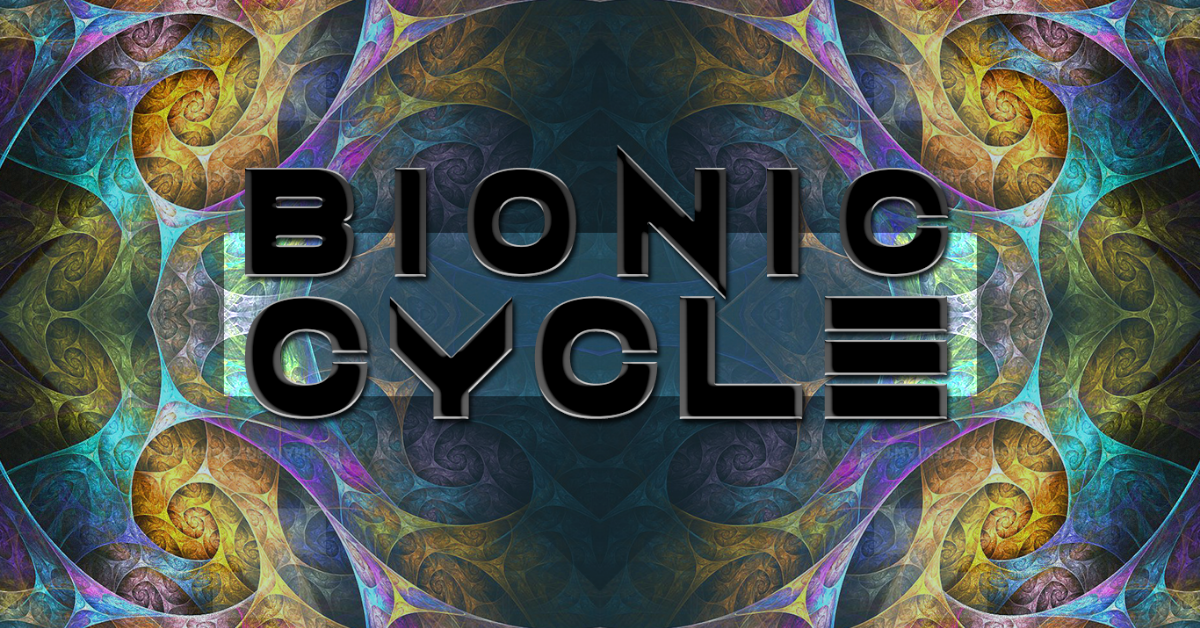 Party Flyer Bionic Cycle #40 · Season Opening 22 Sep '18, 23:00