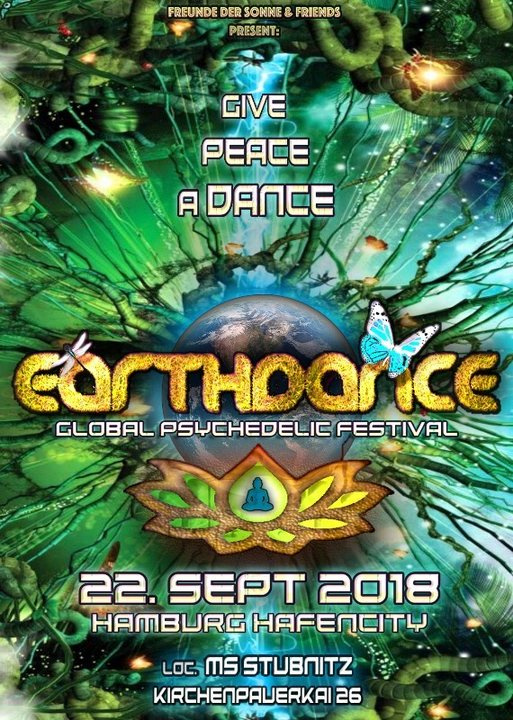 Party Flyer Earthdance Hamburg 22 Sep '18, 22:00