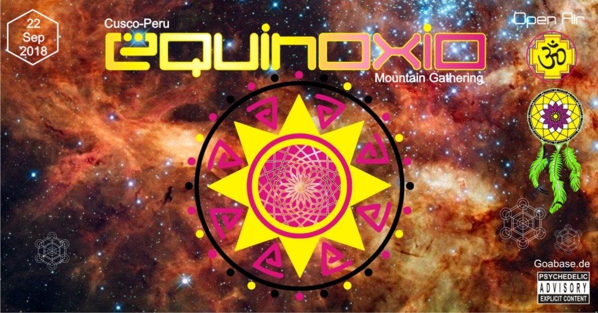 Party Flyer Equinoxio - Mountain Gathering! 22 Sep '18, 14:00