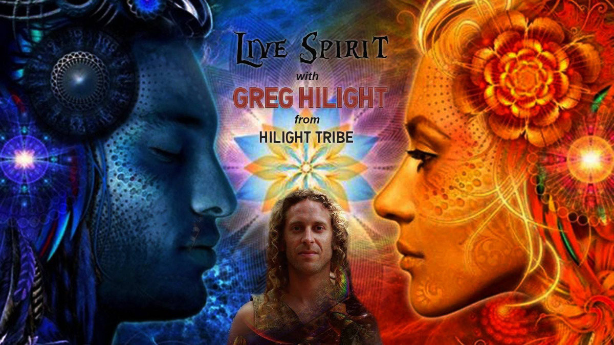 Party Flyer Live Spirit w/ Greg Hilight from Hilight Tribe 22 Sep '18, 23:00