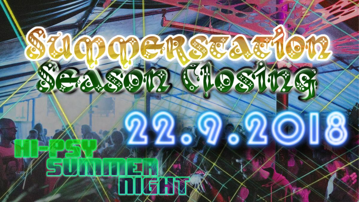 Party Flyer Summerstation || Season Closing 22 Sep '18, 14:00