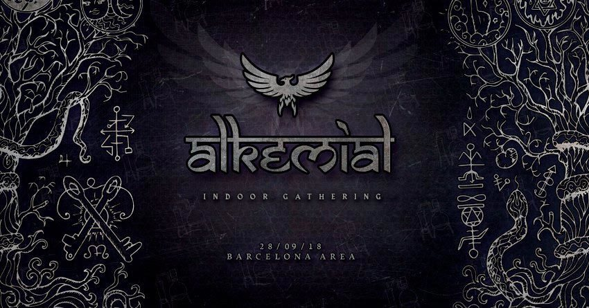 Party Flyer Alkemial Indoor Gathering 28 Sep '18, 23:00