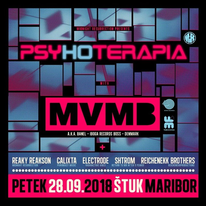 Party Flyer Psyhoterapia 28 Sep '18, 22:00