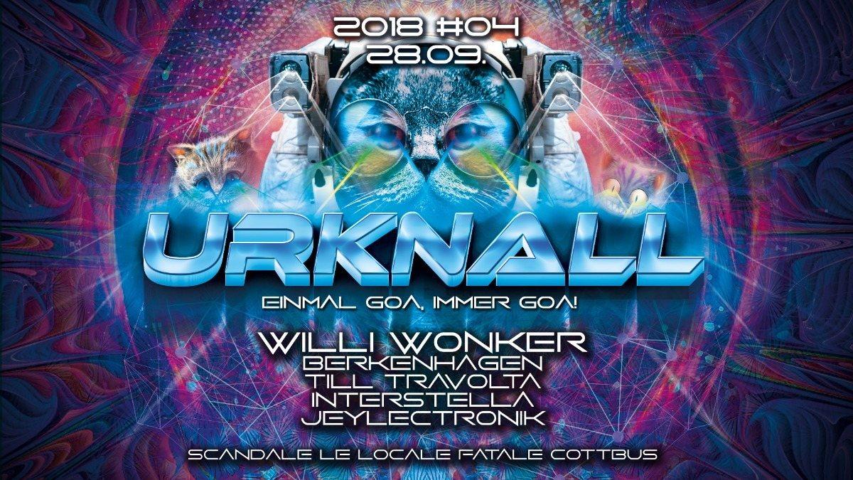 Party Flyer Urknall 2018 #4: Einmal Goa, immer Goa <3 28 Sep '18, 23:00