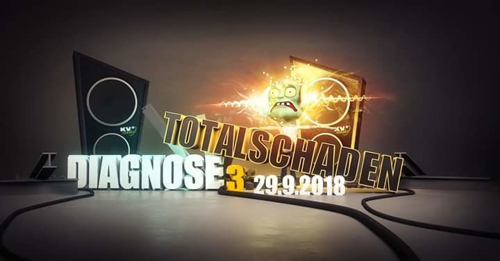 Party Flyer Diagnose Totalschaden 29 Sep '18, 23:00