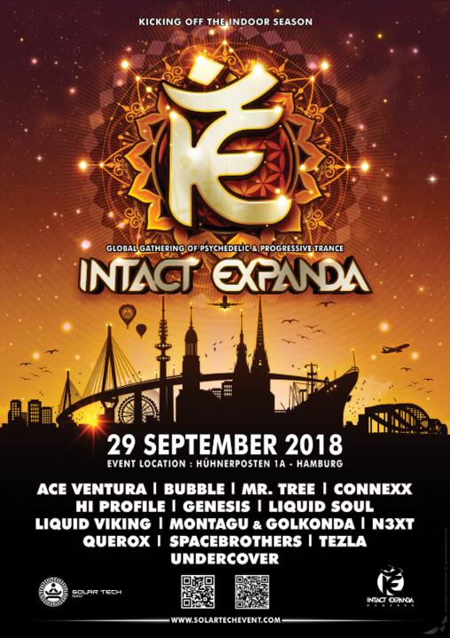 Party Flyer Intact Expanda 2018 29 Sep '18, 21:00