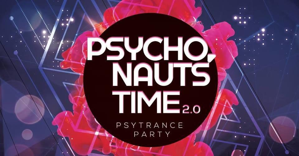 Party Flyer PSYCHONAUTS' TIME 2.0 29 Sep '18, 23:00