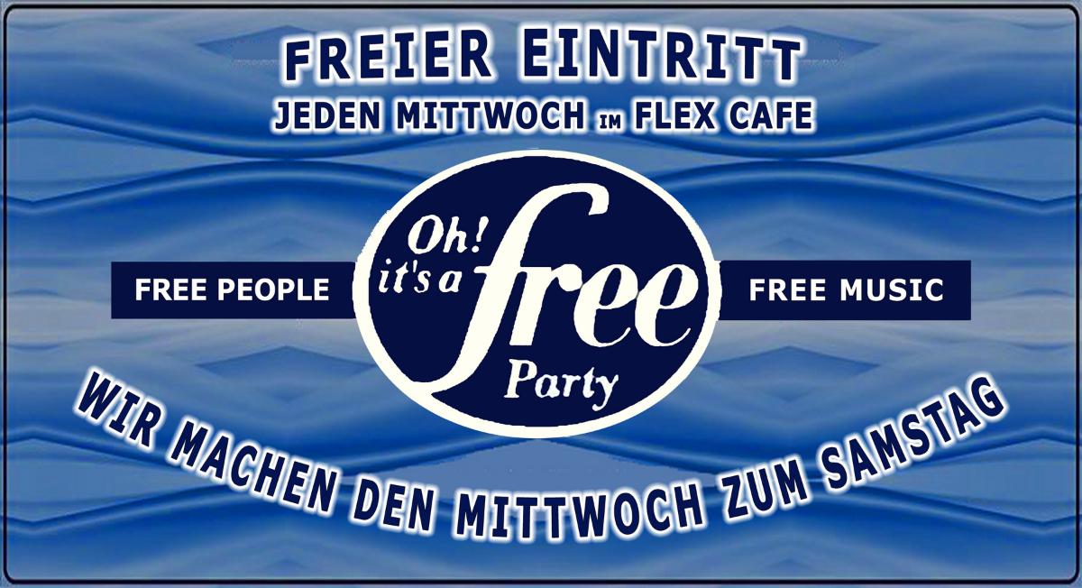 Party Flyer Oh It's a Free Party - 03. Oktober 2018 - Freier Eintritt 3 Oct '18, 23:00
