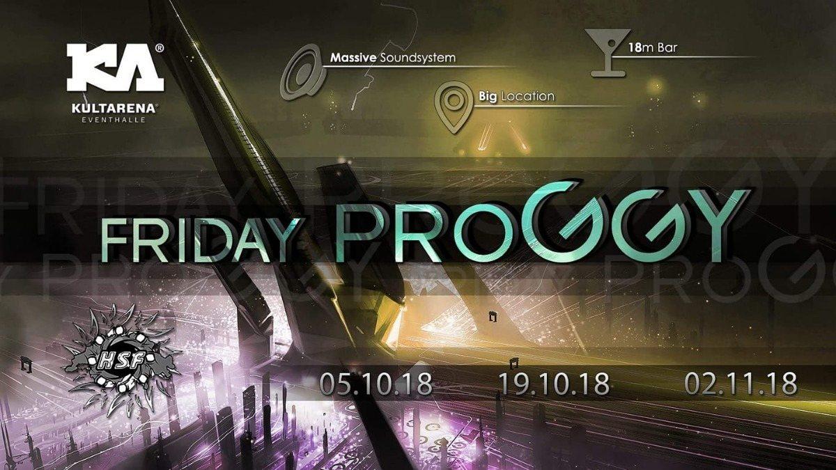 Party Flyer Friday Proggy 5 Oct '18, 21:00