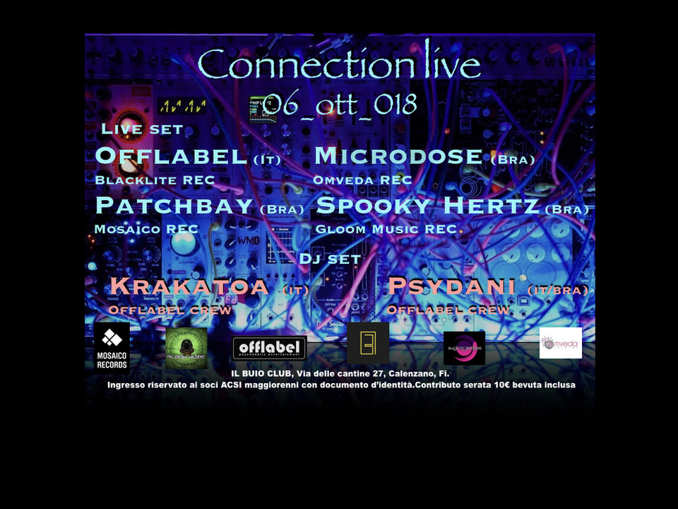 Party Flyer CONNECTION LIVE 6 Oct '18, 23:00