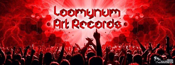 Party Flyer ॐ •: Loomynum Art Records Label Release Night Vol.2 :•ॐ 6 Oct '18, 22:00