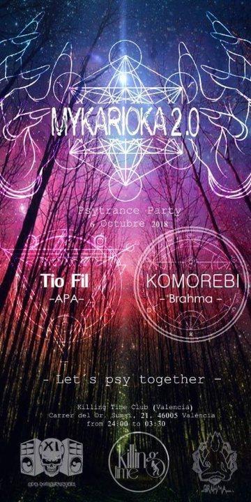 Party Flyer Mykarioka 2.0 6 Oct '18, 22:00