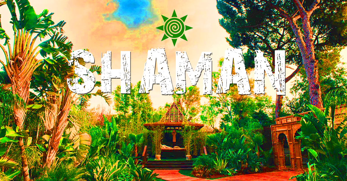Party Flyer Shaman ۞ The Sanctuary 6 Oct '18, 18:00