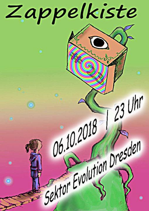 Party Flyer Zappelkiste 6 Oct '18, 23:00
