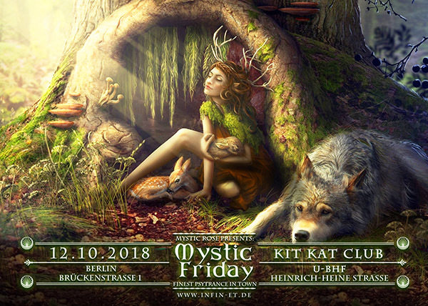 Party Flyer Mystic Friday 12 Oct '18, 23:00