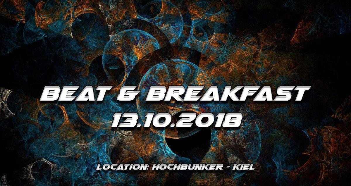 Party Flyer Beat & Breakfast 2018 13 Oct '18, 23:00