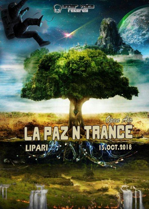 Party Flyer La Paz N Trance   Open Air 13 Oct '18, 17:00