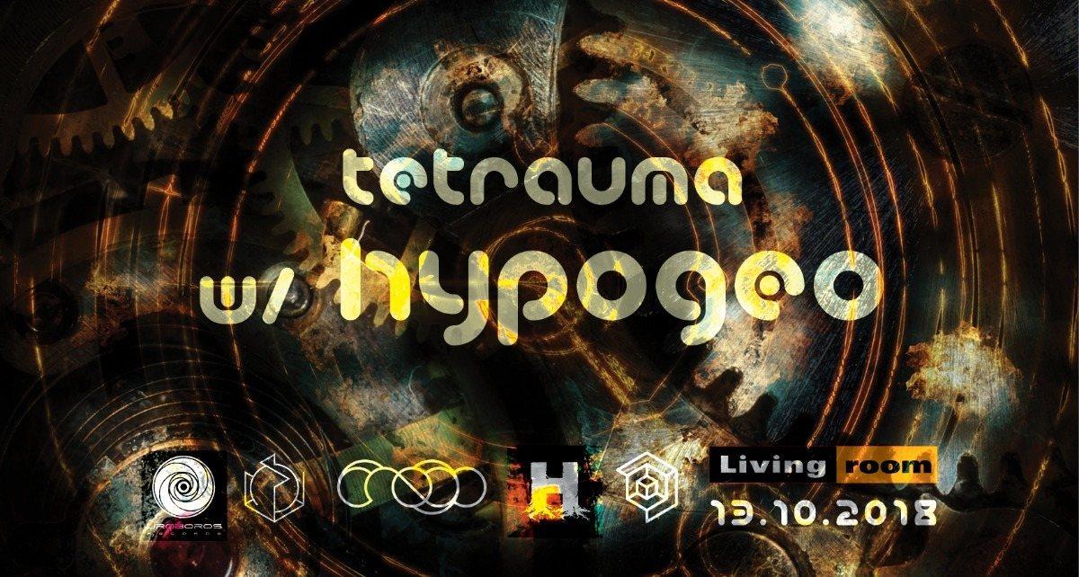 Party Flyer Tetrauma 13 Oct '18, 23:30