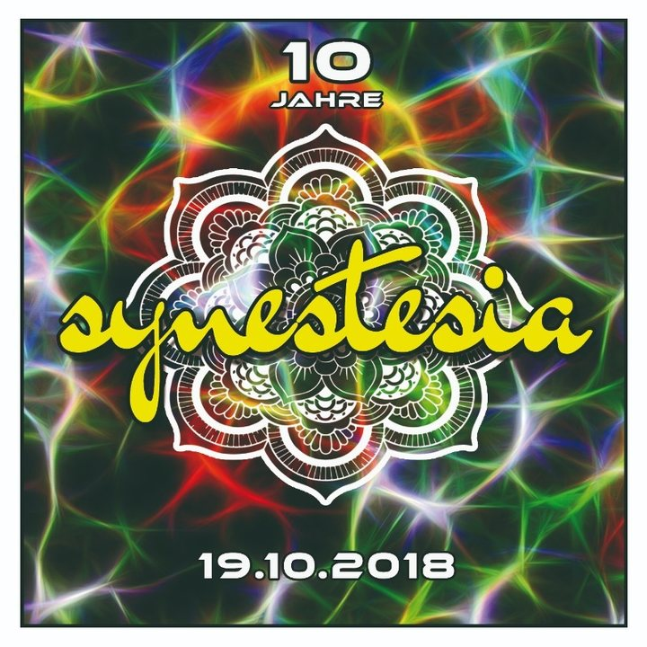 Party Flyer 10 Jahre Synestesia - We Are Family 19 Oct '18, 22:00