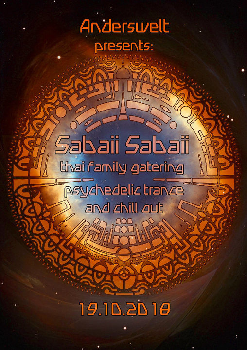 Party Flyer Anderswelt presents: Sabaii Sabaii - thai family gathering 19 Oct '18, 23:30