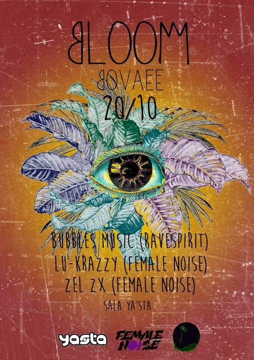 Party Flyer BLOOM BOVAEE 20 Oct '18, 23:30