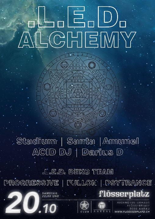 Party Flyer LED - Alchemy 20 Oct '18, 22:00