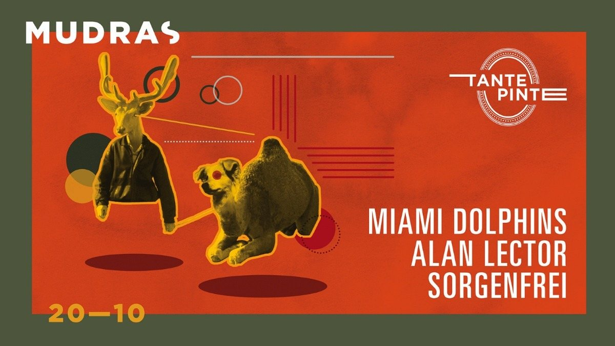 Party Flyer Mudras w/ Miami Dolphins 20 Oct '18, 23:00