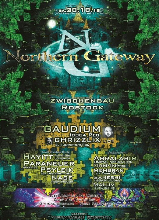 Northern Gateway - Gaudium & Chrizzlix LIVE + extra Darkfloor 20 Oct '18, 23:00